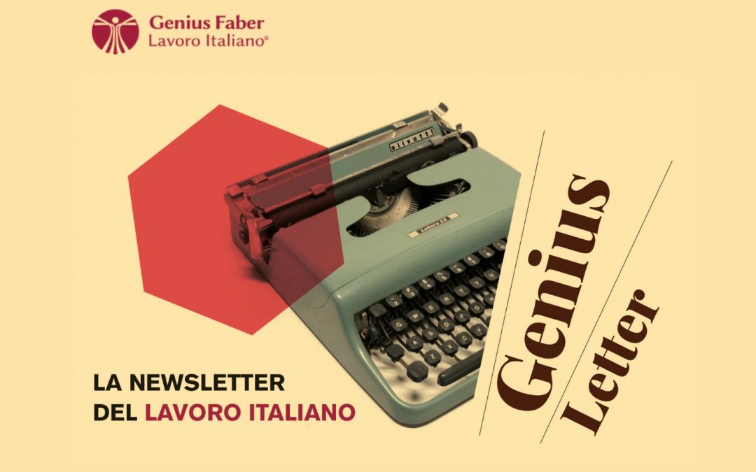 La newsletter di Genius Faber volta pagina