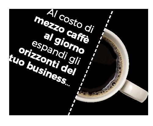 Mezzo caffè al giorno