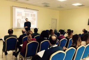 L'incontro con gli imprenditori di Salerno