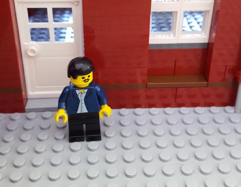 Sede Olivetti riprodotta con i mattoncini Lego - 4