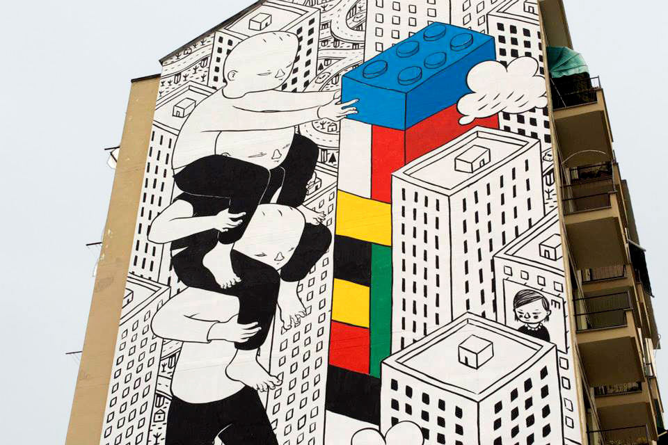 Graffito di Millo - Torino