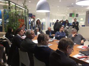 Imprenditori nella tappa di Pavia del GeniusGiro con Intesa Sanpaolo